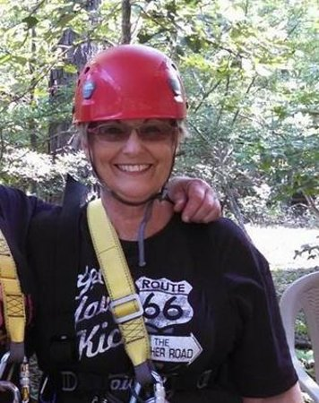 Zip Lines at Ouachita Bend: Cool Grandma