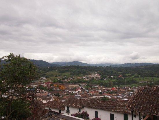 La Casa del Japones: Views from the balcony