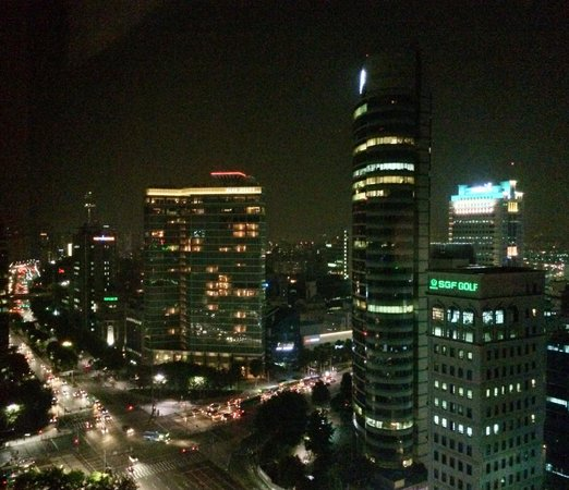 Grand InterContinental Seoul Parnas: View from room on 28th floor