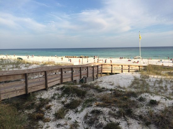Hilton Sandestin Beach, Golf Resort & Spa: View from the pool deck.