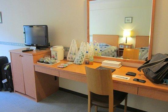 Okuhida Garden Hotel Yakedake : 大化妝桌