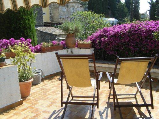 Les Terrasses du Soleil: our beautiful sun terrace