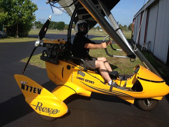 Sky Surfing Scenic Intro Flights: The Trike
