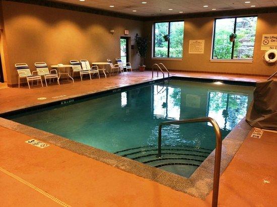 Hampton Inn White River Junction: Indoor pool area