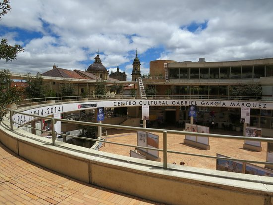 Centro Cultural Gabriel Garcia Marquez: Vista de cima do Centro