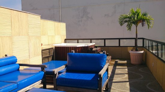 Oceano Copacabana Hotel: terraza del hotel