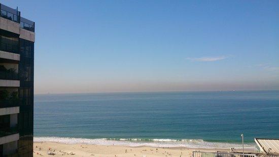 Oceano Copacabana Hotel: vista de la playa desde el hotel