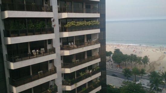 Oceano Copacabana Hotel: vista desde el balcon de la habitación