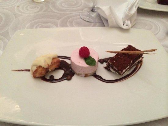 Omaggio: desert (3 different flavors)