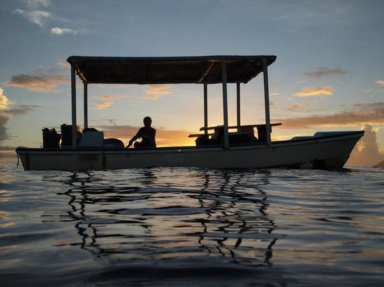 Kosrae Village Ecolodge & Dive Resort: The End of a Beautiful Day