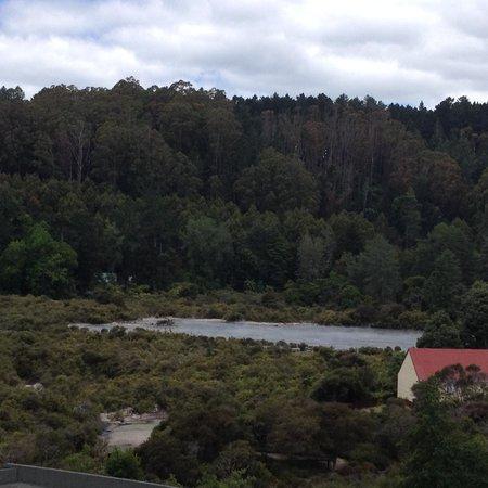 Holiday Inn Rotorua: View from balcony