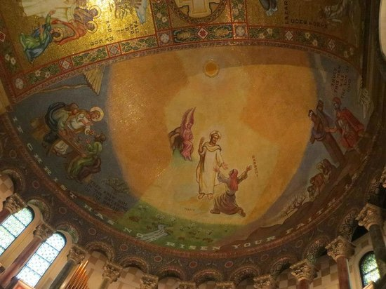 Cathedral Basilica of Saint Louis: East Transept (dome)