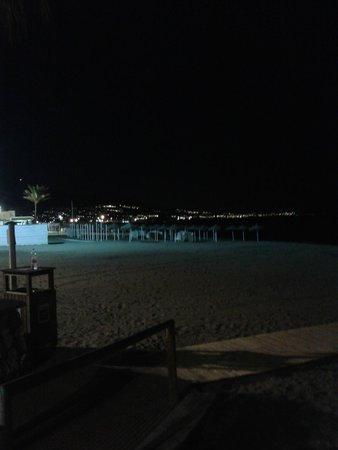 Hotel Las Pirámides: la playa