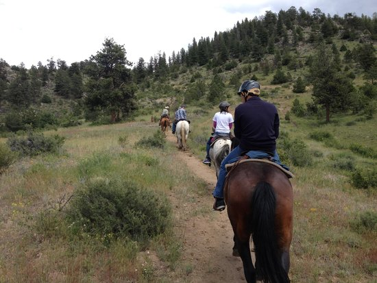 Sombrero Ranch : riding head to tail