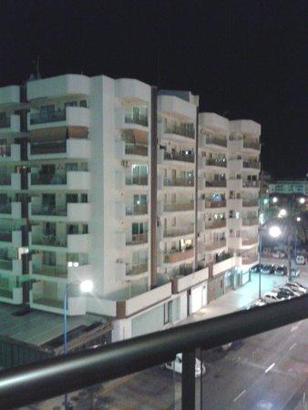 Hotel Las Pirámides: vista