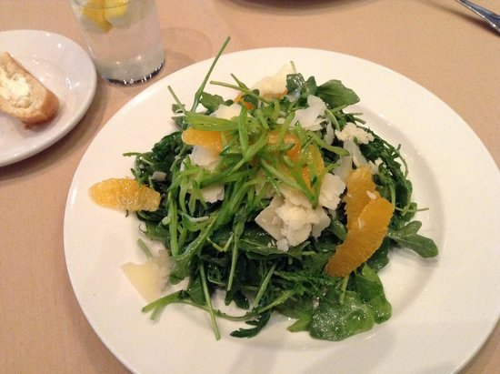 Dakota Jazz Club & Restaurant : House salad