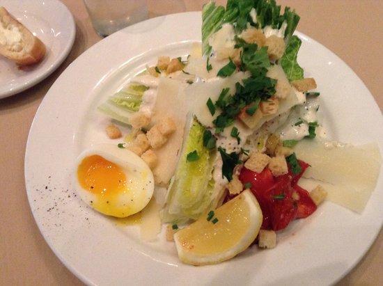 Dakota Jazz Club & Restaurant : Cesar salad