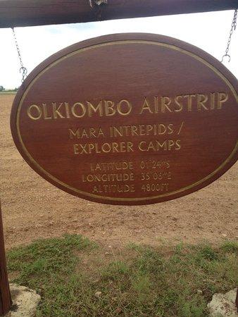 Olare Mara Kempinski Masai Mara: Airstrip