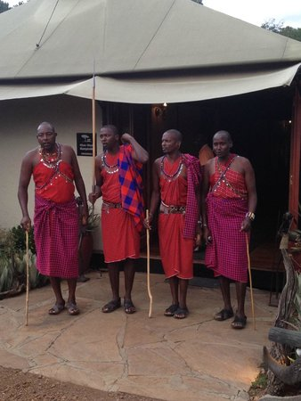 Olare Mara Kempinski Masai Mara: Welcome Team