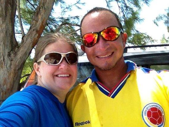 Kitesurf Cayman: Whitney & Jhon