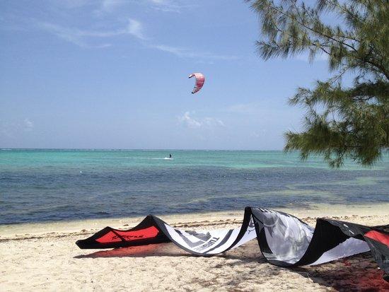 Kitesurf Cayman at Barkers, Grand Cayman