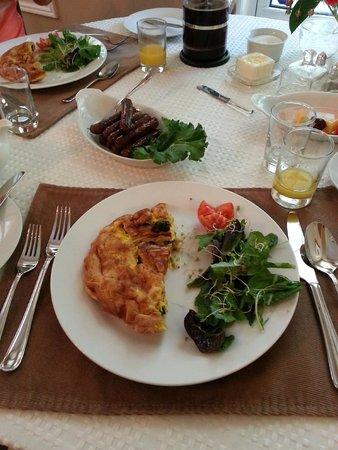 Victoria Gables Bed & Breakfast: Delicious Breakfast