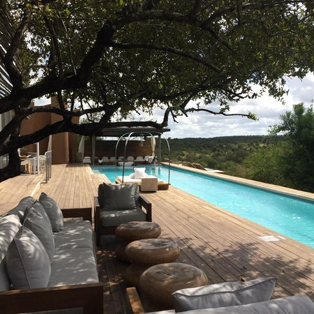 Singita Lebombo Lodge: Pool view