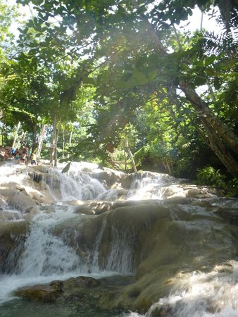Dunn's River Falls and Park: The highest section