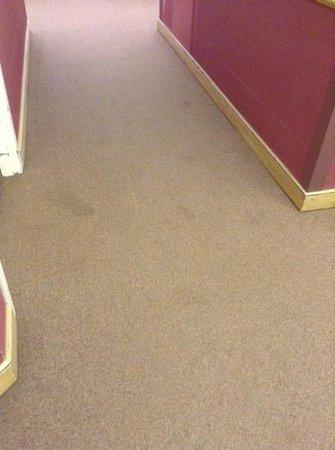 The Vintage Resort Hotel & Conference Center : carpet stains