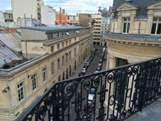 Hotel De Nell: view from balcony