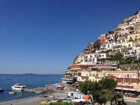 Hotel Buca di Bacco: Terrace view