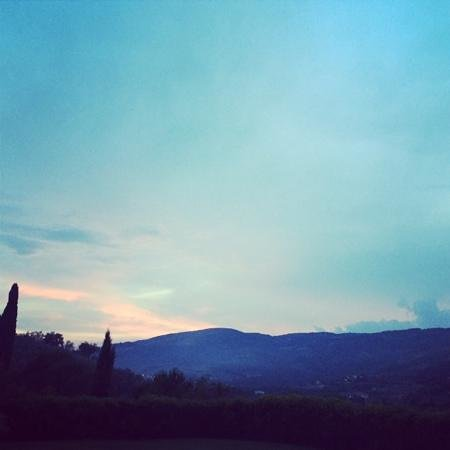 Casa Portagioia : under the Tuscan sun(set)