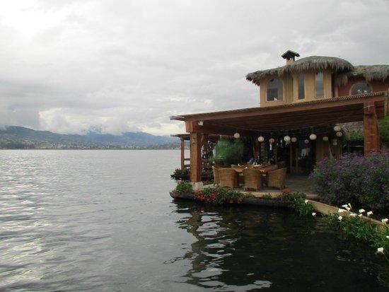 Hosteria Cabanas del Lago: Restaurant