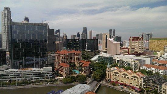 Novotel Singapore Clarke Quay: View from room 2423