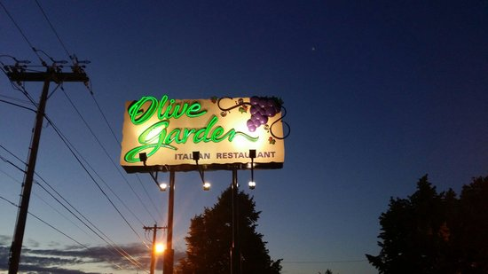 It's amazing experience to go olive garden