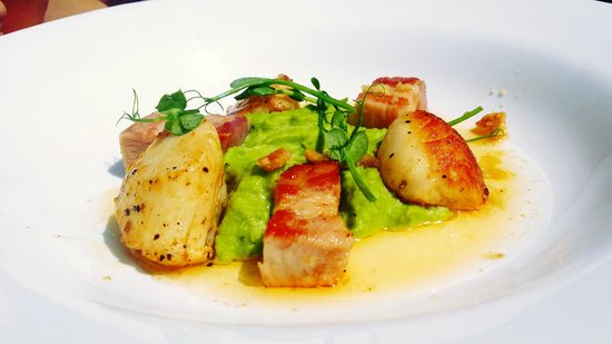 The Miners Arms: Scallops