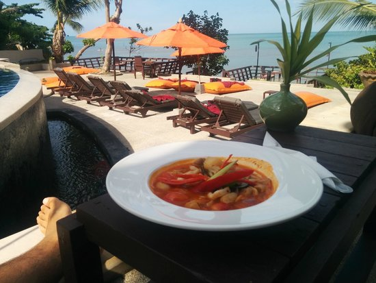 Bhundhari Spa Resort & Villas Samui : yummy