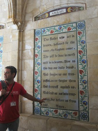 SANDEMANs NEW Europe - Jerusalem: The Lord's Prayer in hundreds of languages at the Church of Pater Noster
