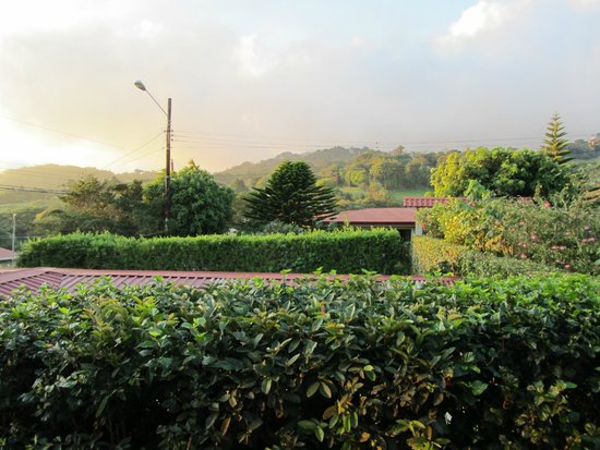 Monteverde Rustic Lodge : view from outside the family room