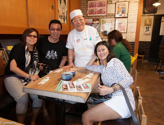 Endo Sushi Kyobashi : Best Sushi with the Chef, owner
