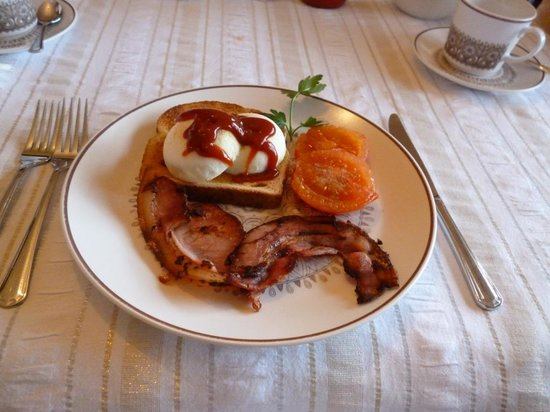 Clifton Gardens Bed & Breakfast: Cooked breakfast