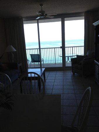 Majestic Beach Towers : Balcony View