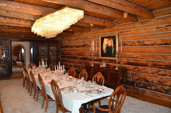 Fontanel Mansion: dining room