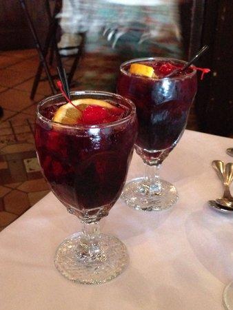 Columbia Restaurant : Fresh sangria!