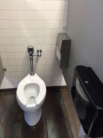 Chicago Getaway Hostel: Pretty clean toilets