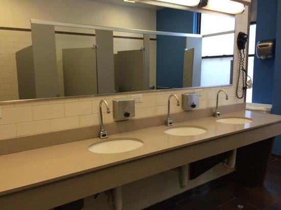 Chicago Getaway Hostel: Bathroom sinks