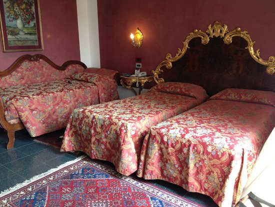 Hotel San Cassiano - Residenza d'Epoca Ca' Favaretto : Our triple room was quite nice and bigger than usual!