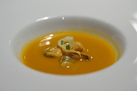 AQ restaurant: Thai Gazpacho