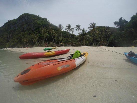 Mu Ko Ang Thong National Park : Kayak