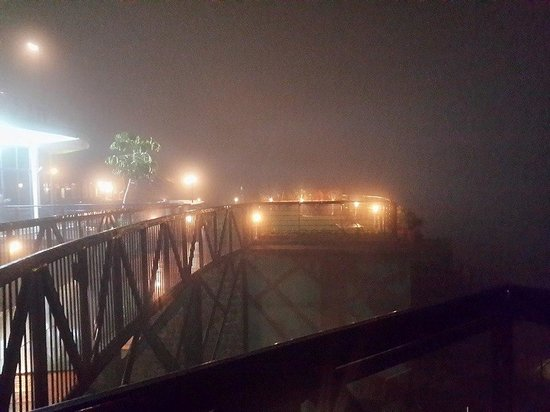 Great Trails Yercaud by GRT Hotels: When the fog covered the balcony